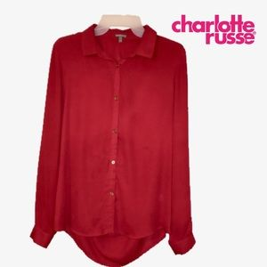 ❤️Charlotte Russe Button Down Blouse